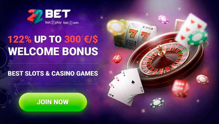 Techniczne zalety 22BET Casino