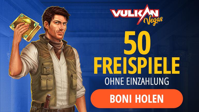 50 darmowych gier w ruletkę w Vulkan Vegas Casino bez wpłat