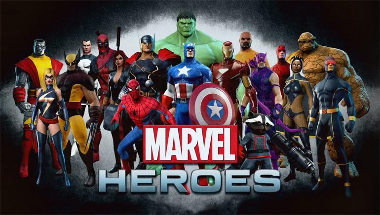 Dołącz do Heroes Marvel  w Kasynie Online