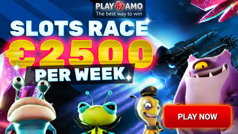 Zgranij pulę 2500 Euro w turnieju automatów Playamo