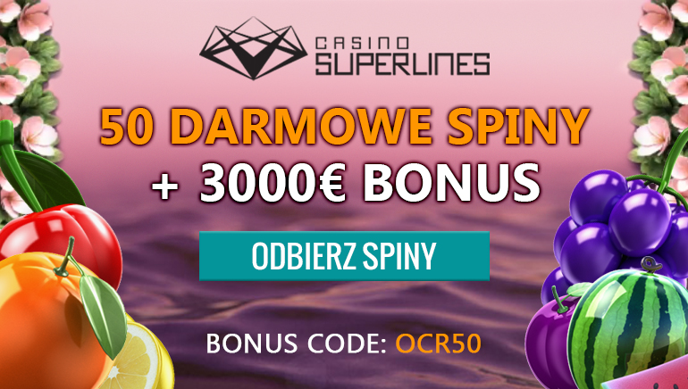 Rozpocznij przygode od 50 darmowych gier w ruletkę w Casino Superines