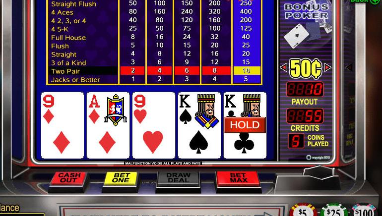 Darmowy Video Poker Online