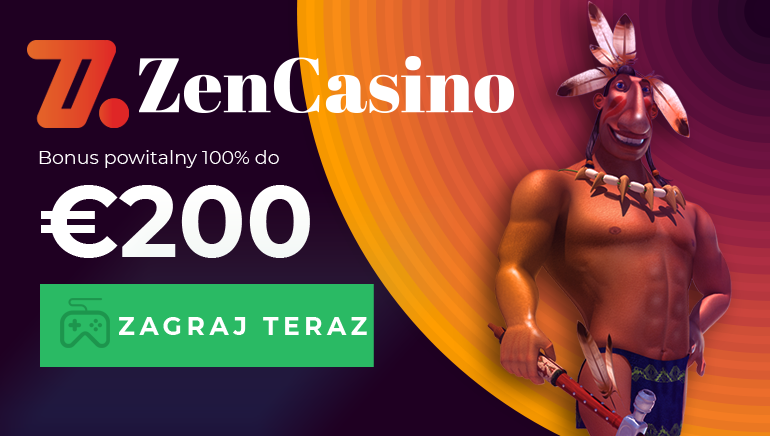Zacznij przygodę z Zen Casino od bonusu w wysokości 200 EUR
